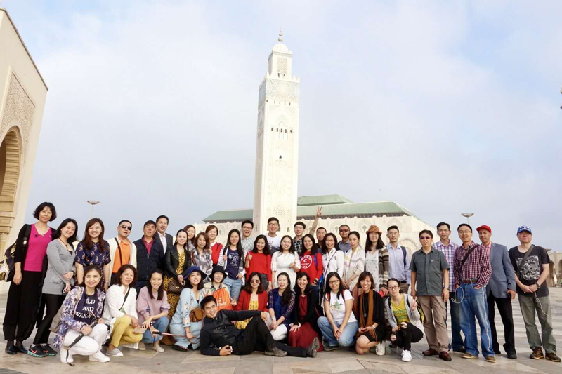 Chinese tour operators visit many Moroccan tourist cities during their Fam trip
