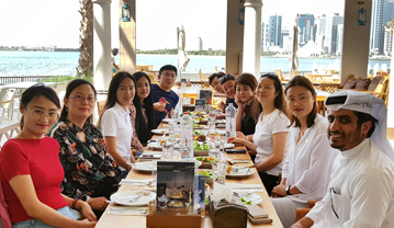Sharjah Hosts the First 2018 Fam Trip for the Chinese Tour Operators